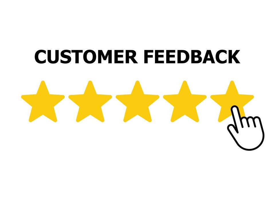 Customer reviews, rating, user feedback.